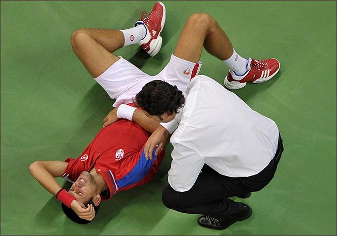 Джокович не смог помочь своей команде победить