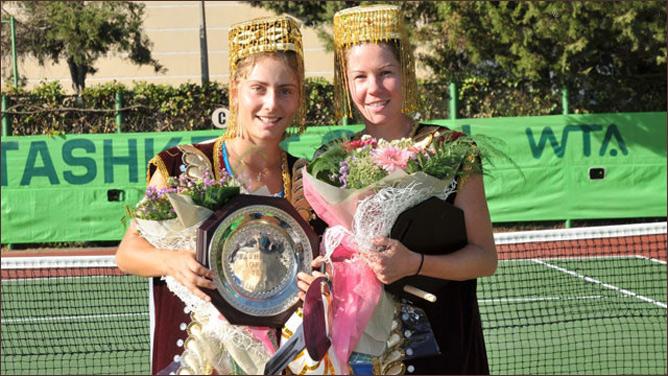 Ксения завоевала свой первый титул WTA