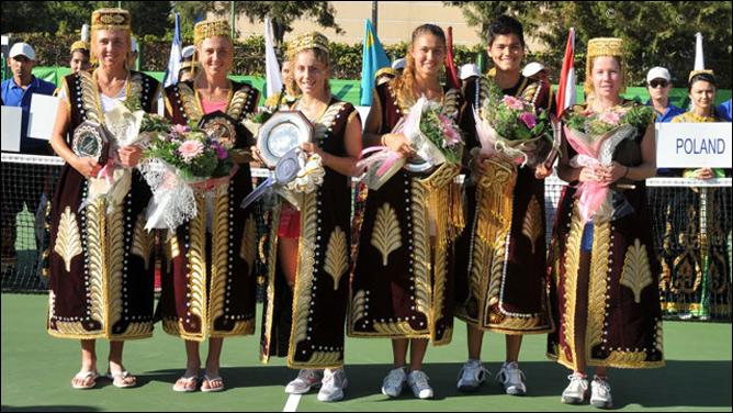 Виталия стала чемпионкой Ташкента в парном разряде