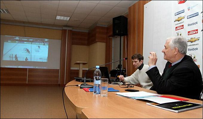Тренерский семинар Владимира Юрзинова