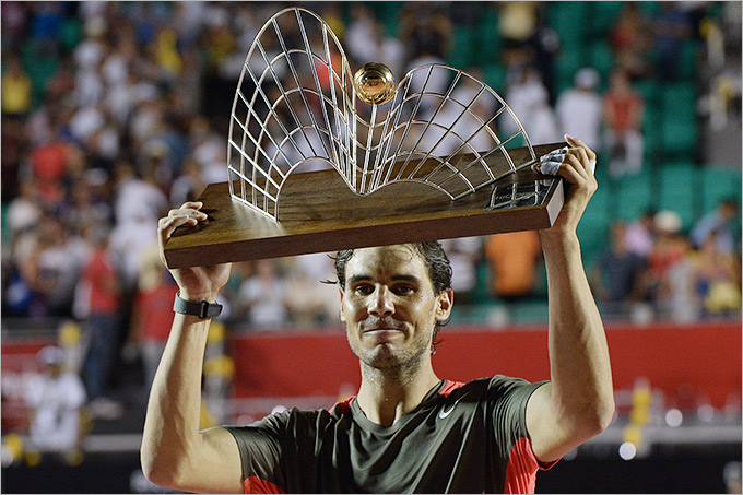 Надаль стал чемпионом Рио-де-Жанейро