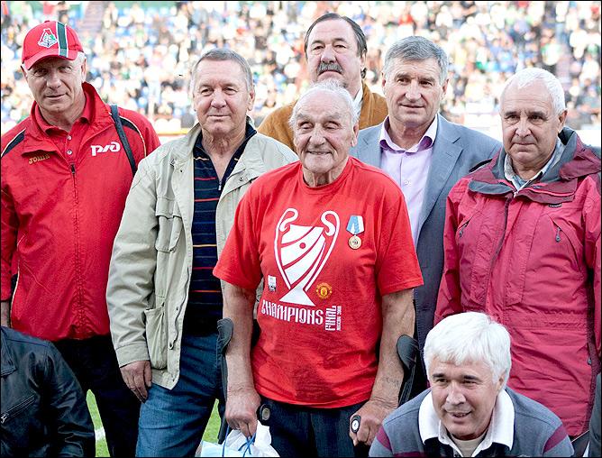 Ветераны томского футбола