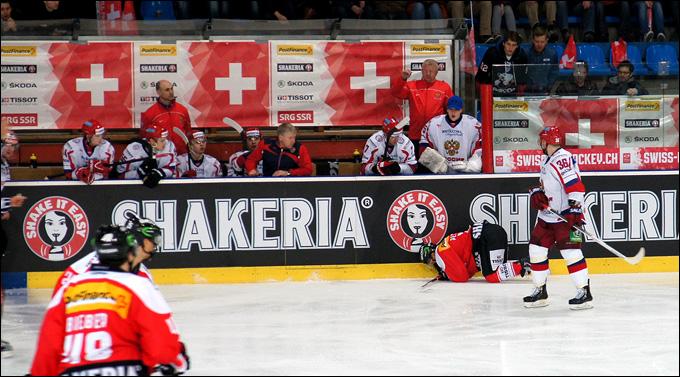 5 апреля 2013 года. Фрибург. Еврочеллендж-2013. Швейцария — Россия — 2:1