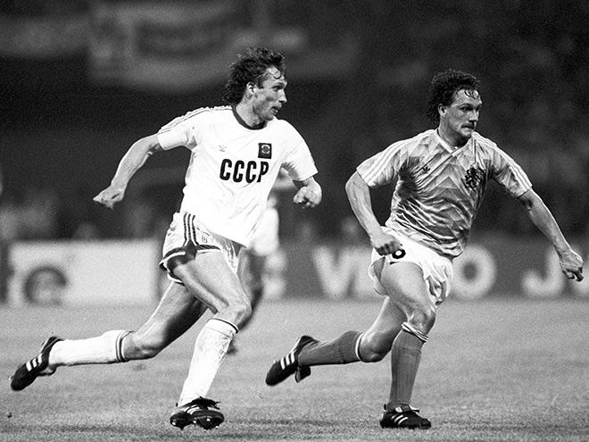 На Евро-1988 сборная СССР дошла до финала