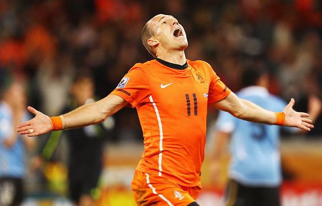 2010 год. Нидерланды – Уругвай