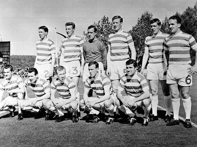 """Шотландский """"Селтик"""" перед финальным матчем 1967 года"""