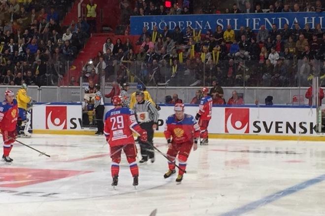 Альберт Яруллин удалён до конца игры