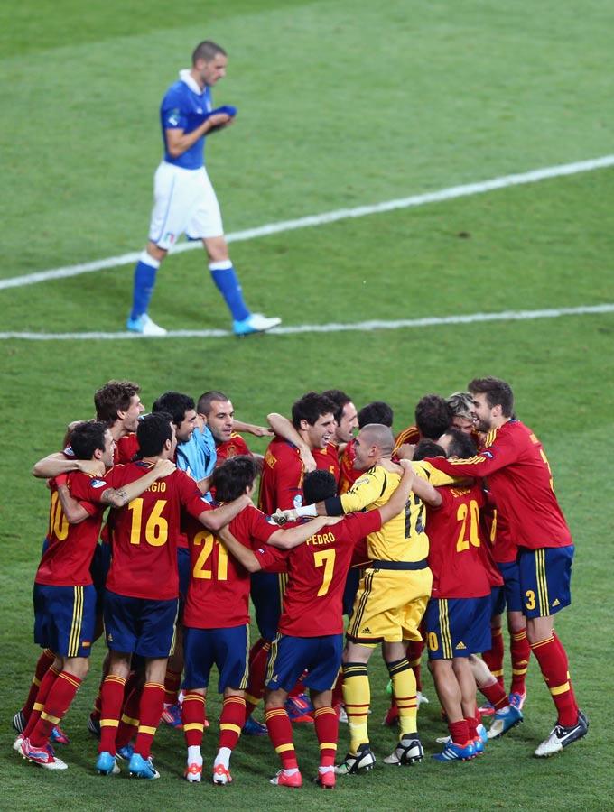 Радость сборной Испании