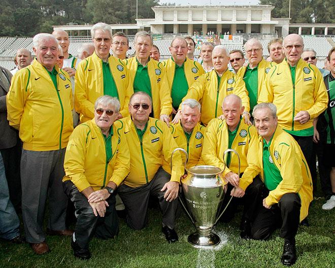 Обладатель Кубка европейских чемпионов 1967 года «Селтик». 39 лет спустя