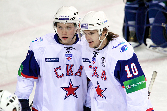 Виктор Тихонов и Владимир Тарасенко