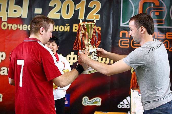 Корпоративный турнир по мини-футболу на Кубок Победы 2012 года