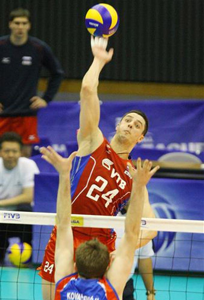 Павел Мороз впервые вышел на площадку в форме сборной России