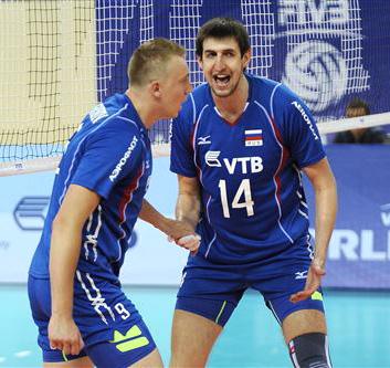 Новички сборной России – Алексей Спиридонов и Артём Вольвич