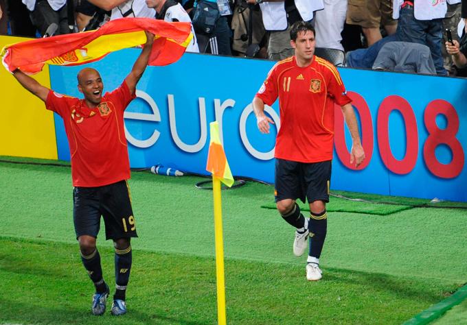 Его звёздный час наступил в 2008 году, когда Испания выиграла чемпионат Европы, а Сенна был включён в символическую сборную турнира