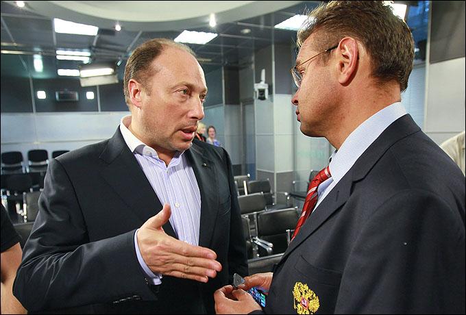 Вячеслав Аминов и Андрей Тропин. Цель одна — победа в Лондоне