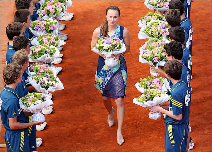 Мартина Хингис – в Зале теннисной славы