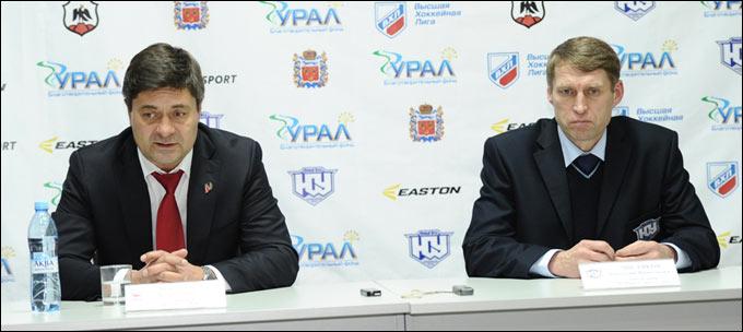Анатолий Чистяков и Андрей Мартемьянов