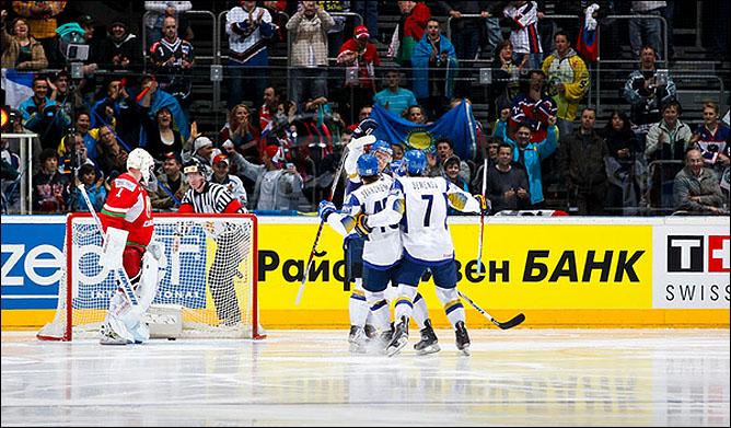 09.05.2010. ЧМ-2010. Белоруссия - Казахстан - 5:2. Фото 01.
