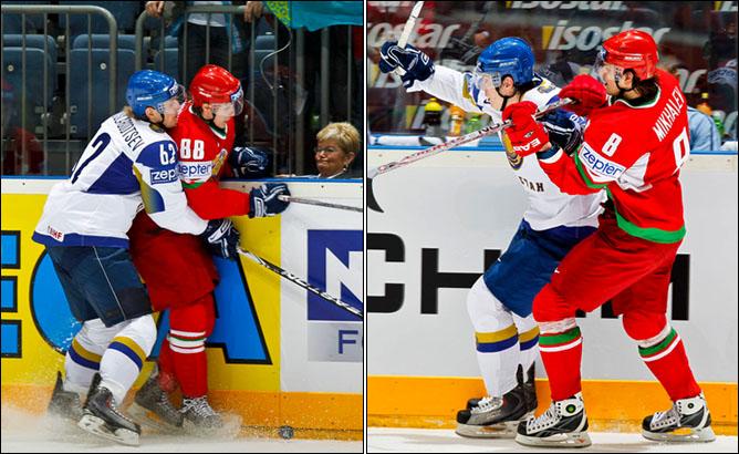 09.05.2010. ЧМ-2010. Белоруссия - Казахстан - 5:2. Фото 02.