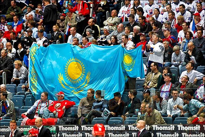 09.05.2010. ЧМ-2010. Белоруссия - Казахстан - 5:2. Фото 03.