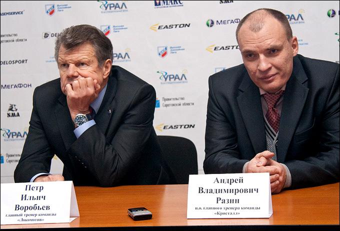 Петр Воробьев и Андрей Разин: два поколения