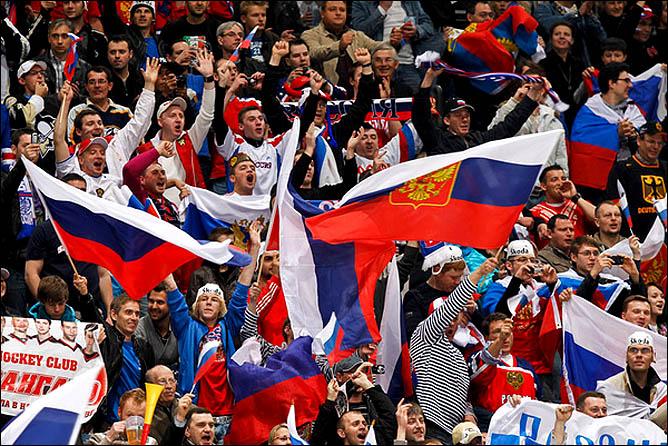 09.05.2010. ЧМ-2010. Словакия - Россия - 1:3. Фото 01.