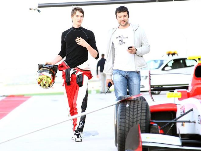 Николай Марценко с Максимом Травиным