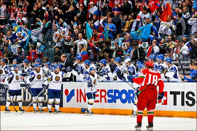 09.05.2010. ЧМ-2010. Белоруссия - Казахстан - 5:2. Фото 07.