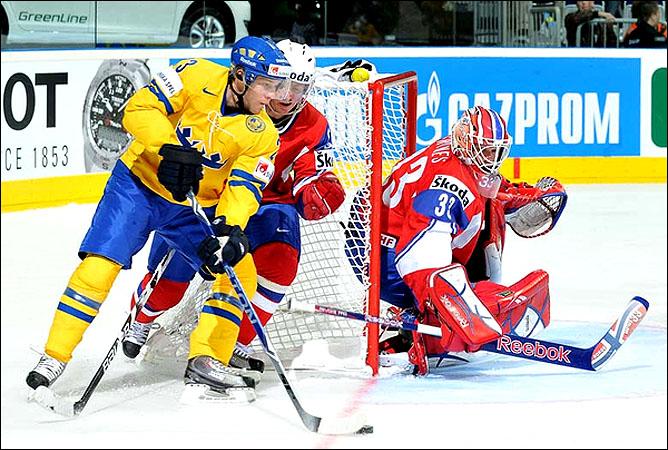 09.05.2010. ЧМ-2010. Норвегия - Швеция - 2:5. Фото 01.