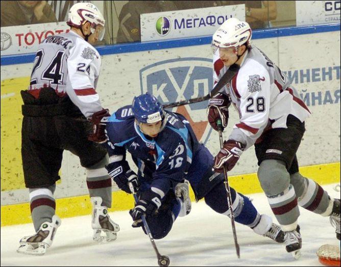 Рига против Минска.