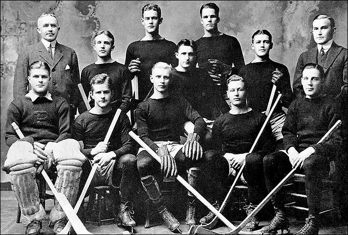 Хоккейная команда университета Принстона