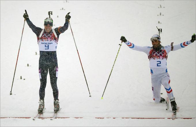Свендсен чуть не упустил золотую медаль