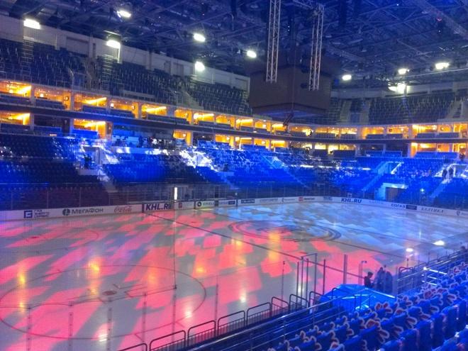 Арена до начала игры
