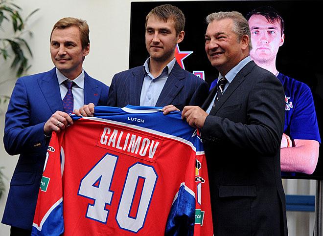 Сергей Фёдоров, Станислав Галимов и Владислав Третьяк