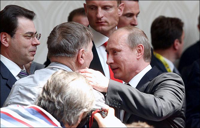 Братислава. Май 2011 года. С премьер-министром Владимиром Путиным