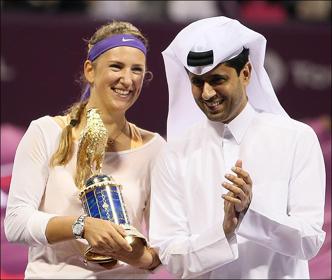 Виктория Азаренко защитила в Катаре титул