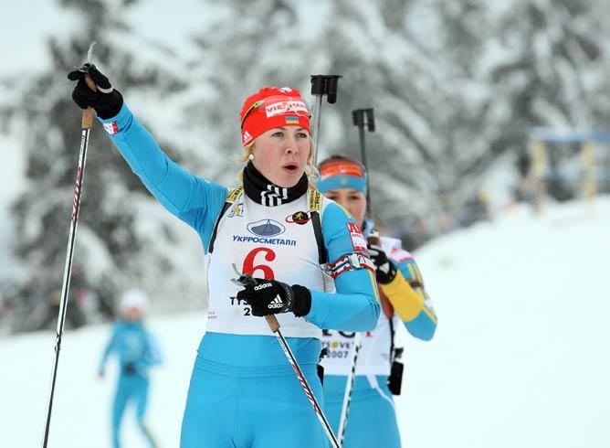 Юлия Джима не подвела своих более опытных партнёрш по сборной