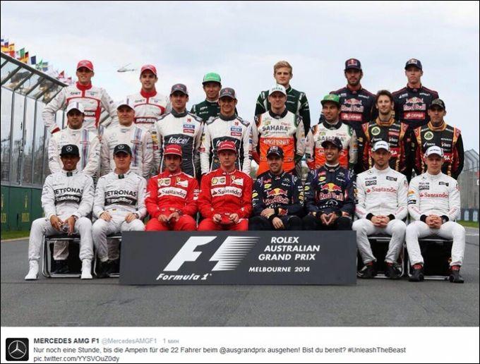 Гонщики Формулы-1 сезона-2014