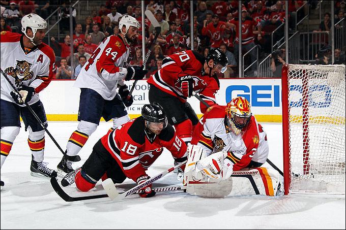 """18 апреля 2012 года. Нью-Арк. Плей-офф НХЛ. 1/8 финала. Восток. """"Нью-Джерси Дэвилз"""" — """"Флорида Пантерз"""" — 3:4"""