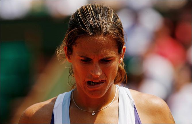 Из-за не пройденного допинг-теста зрители не увидят Амели на корте