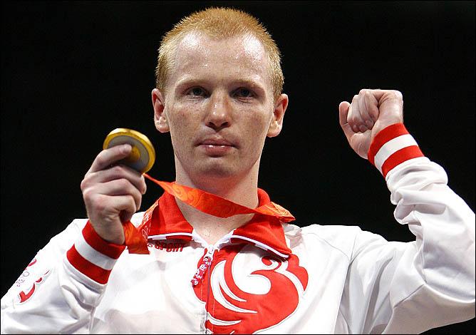 Олимпийский чемпион Пекина Алексей Тищенко