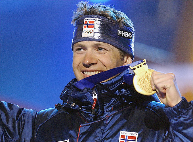 Четыре потрясающие победы сделали Бьорндалена абсолютным олимпийским чемпионом Солт-Лейк-Сити