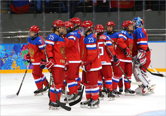 Женская сборная России заняла шестое место