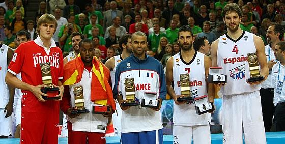 Симфолическая пятёрка Евробаскета-2011