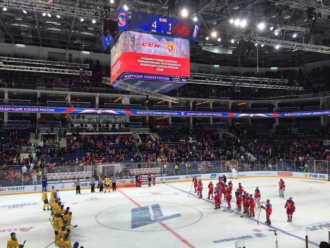Россия — Швеция — 1:4