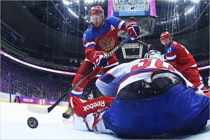 Мужская сборная России обыграла норвежцев