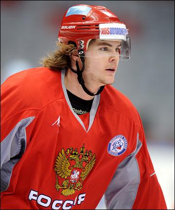 Виктор Тихонов в сборной России