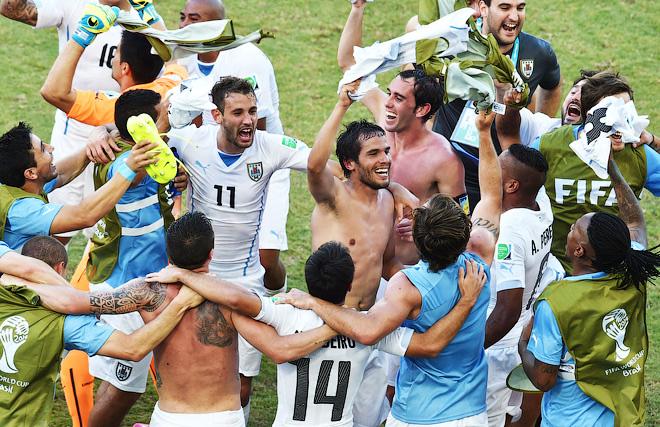 Ликование Уругвая