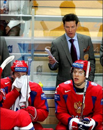 Вячеслав Быков и его сборная