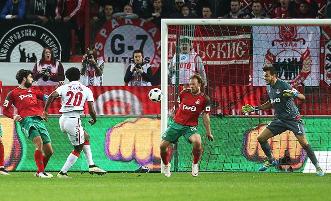 «Спартак» впервые с 2012 года выиграл у «Локомотива»